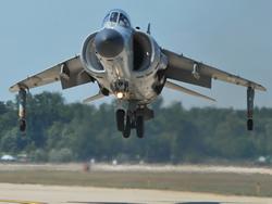 Harrier Hovering
