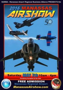 2016 Manassas Airshow Poster